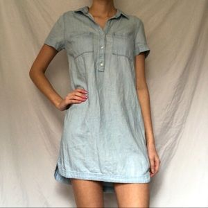 Old Navy short-sleeve chambray dress